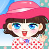 Sala cute Girl Dress Up juego