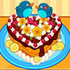 Cute heart cake game