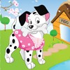 Cute Puppy Dress Up game