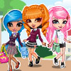 Cutie Trend-School Girl Group Dress Up game
