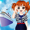 Cute Navy Girl Makeover spel