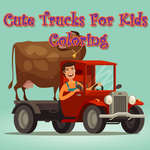 Cute Trucks For Kids Coloring game