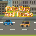 Cute Cars and Trucks Match 3 jeu