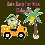игра Симпатичные автомобили для детей раскраски