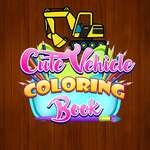 Cute Vehicle Coloring Book game