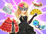 Cute Anime Princess Dress Up game