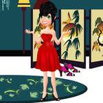 Cutie Girl Dress Up game
