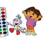 Cute Girl Coloring Book game