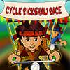 Cyklu Rickshaw závod hra