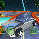 Subida de la carrera de camiones cibernéticos juego
