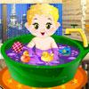 Baño diario del bebé juego