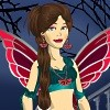 Dark Fairy Delilah Dress Up game