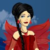 Dunkle Fee Leigha Dress Up Spiel