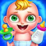 Tägliche Babypflege Spiel