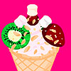 Zdobenie zmrzliny hra