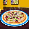 Ízletes Pizza dekoráció játék