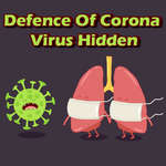Defence Of Corona Virus Hidden game
