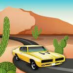 игра Гонка на пустынных автомобилях