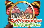 Differences Butterflies game