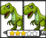 Dinosaur Spot The Difference game