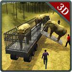 Simulador de camiones de transporte Dino 3D juego