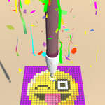 Диамант картина ASMR оцветяване игра