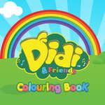 Livre de coloriage Didi Friends jeu
