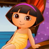 Dora in de Spa spel