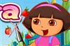 Dora geschnittene Früchte Spiel