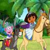 Dora cesta puzzle hra