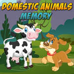 Domestic Animals Memory game