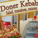 D ner Kebab salade tomates oignons juego