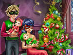 Dotted Girl Family Christmas juego