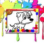 Dogs Coloring Book game