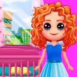 Кукольный дом игры Дизайн и украшение