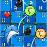 Dolphin Dice Race jeu
