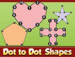 игра Dot to Dot Shapes Детское образование