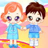Dressup Twin Babys game