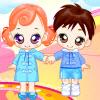 Dressup Twin Babys joc