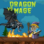 Dragon vs Mage game