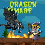 Dragon vs Mage jeu