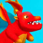 Carrera de vuelo del dragón juego
