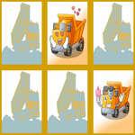 Dump Trucks Memory game