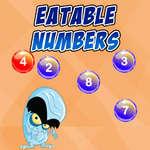 Números que se pueden comer juego