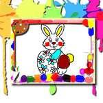 Великденска книжка за оцветяване игра