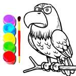 Eagle Coloring Book game