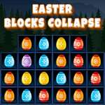 Easter Blocks Collapse game