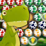 Ei Shooter Bubble Dinosaurus spel