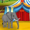 Éléphant de cirque jeu