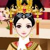 Elegantné čínskej princeznej hra